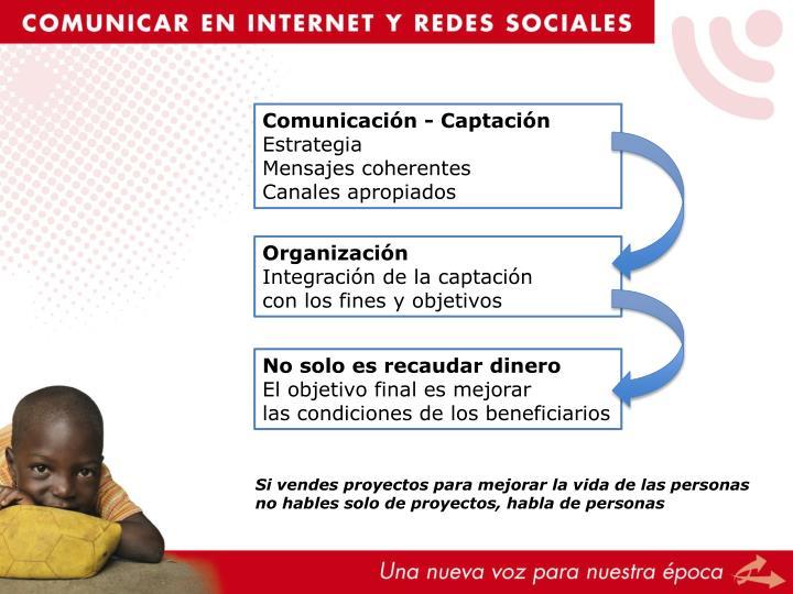 Comunicación - Captación