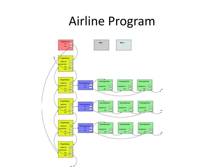 Airline Program