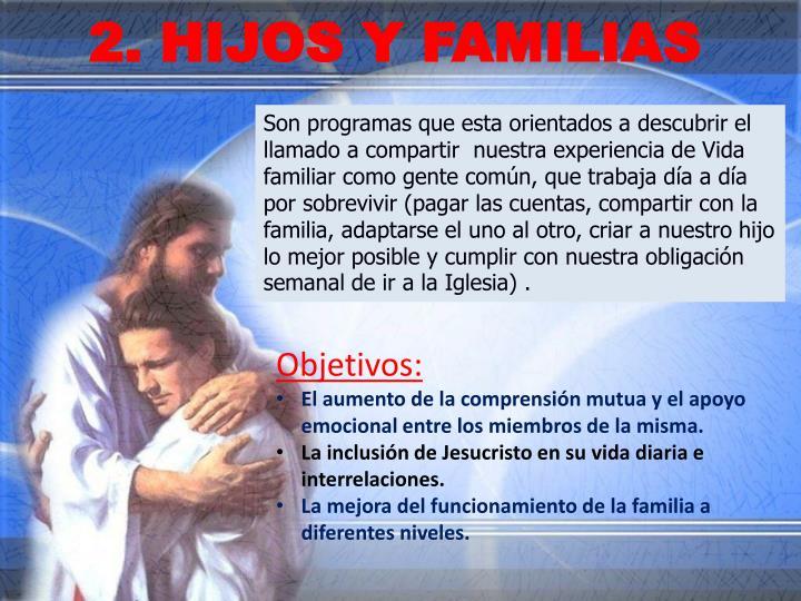 2. HIJOS Y FAMILIAS