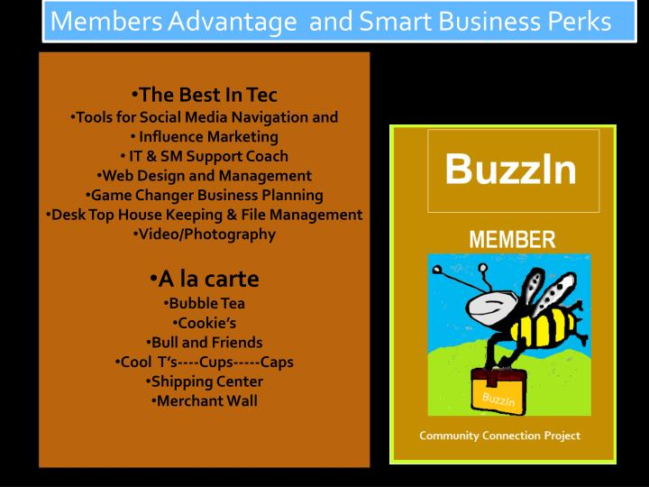 Members Advantage  and Smart Business Perks
