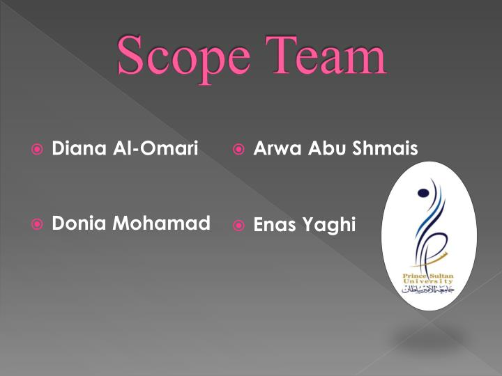Scope team