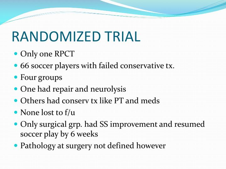 RANDOMIZED TRIAL