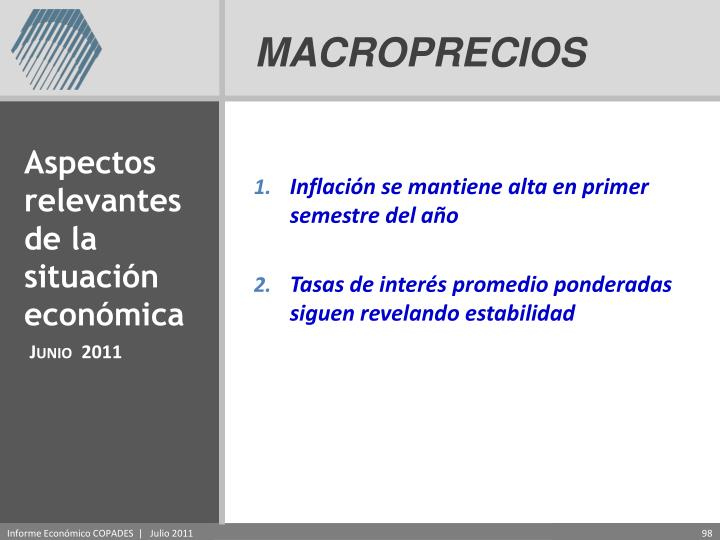 MACROPRECIOS