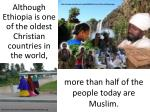 more than half of the people today are muslim
