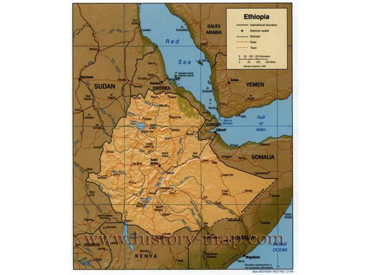 Ethiopia is a country located in what is often called the horn of africa