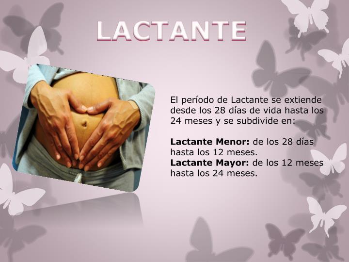 LACTANTE