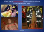 die not rettung crash rettung von bewusstlosen personen durch schleifen in der ebene