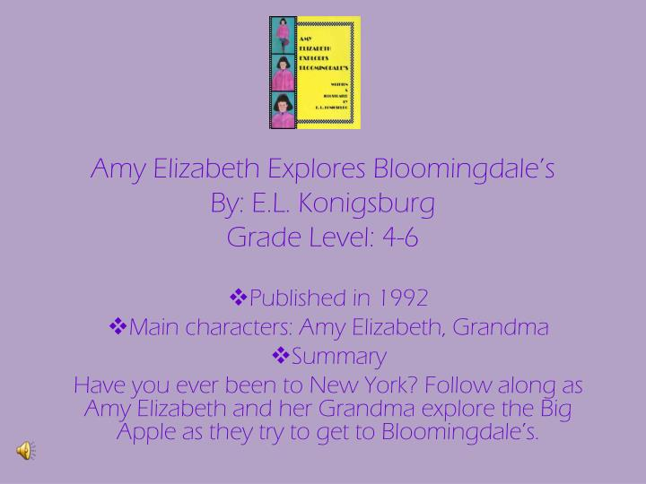 Amy Elizabeth Explores Bloomingdale's