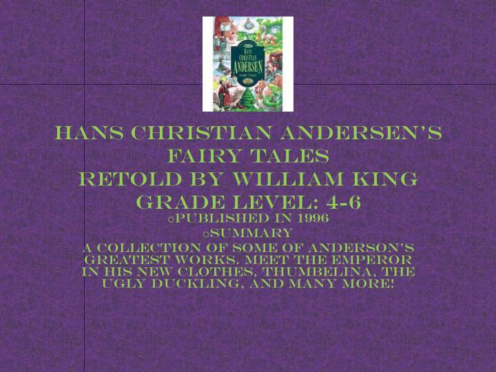 Hans Christian Andersen's