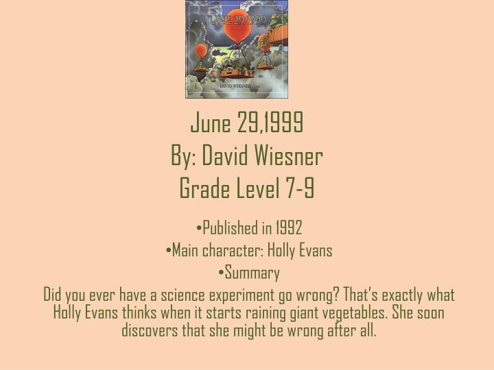 June 29,1999