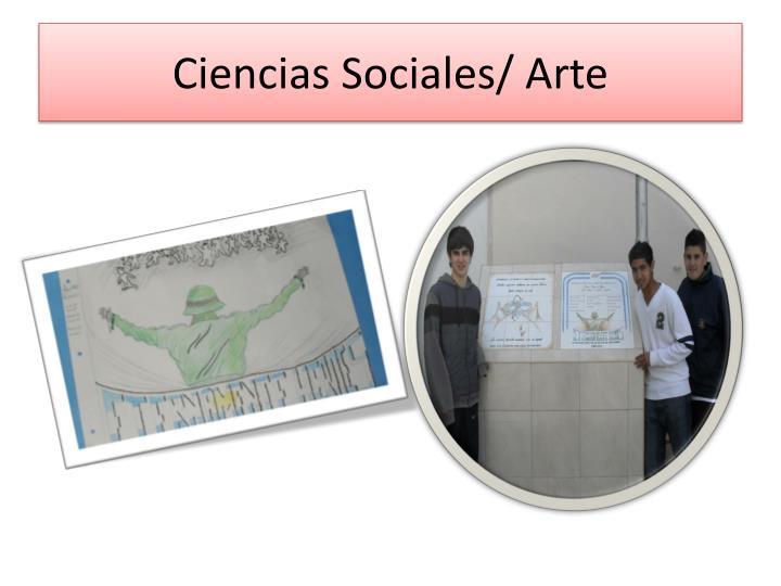 Ciencias Sociales/ Arte