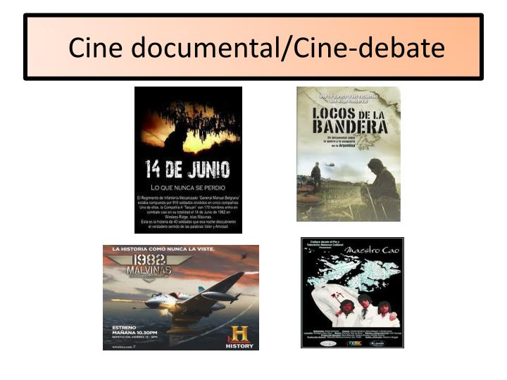Cine documental/Cine-debate