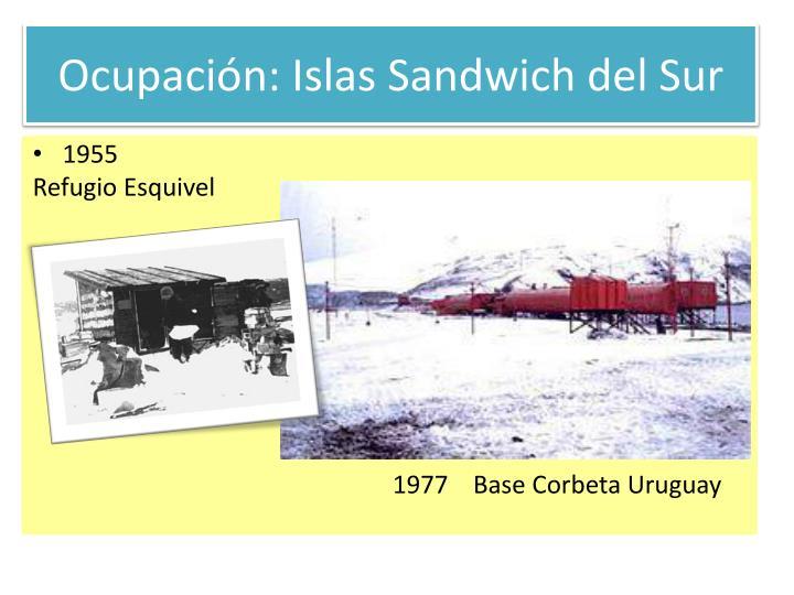Ocupación: Islas