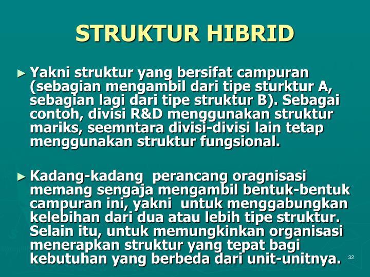 STRUKTUR HIBRID