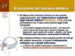 evoluzione del sistema limbico