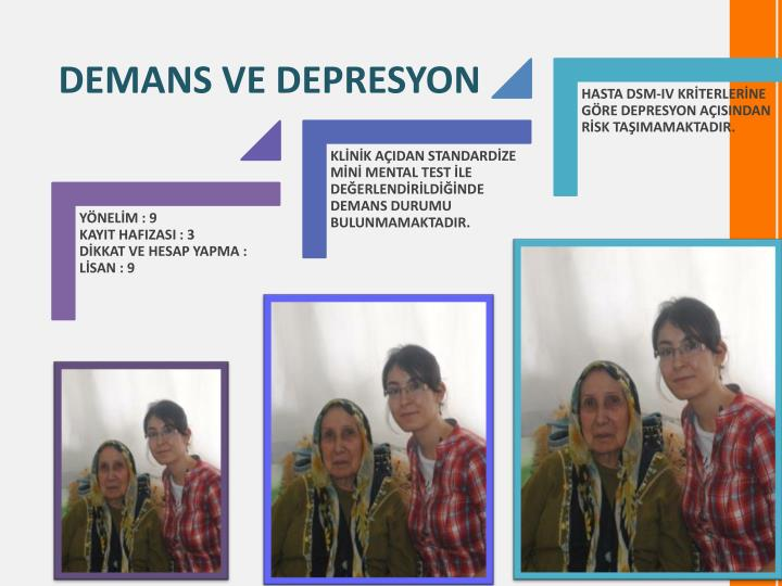 DEMANS VE DEPRESYON