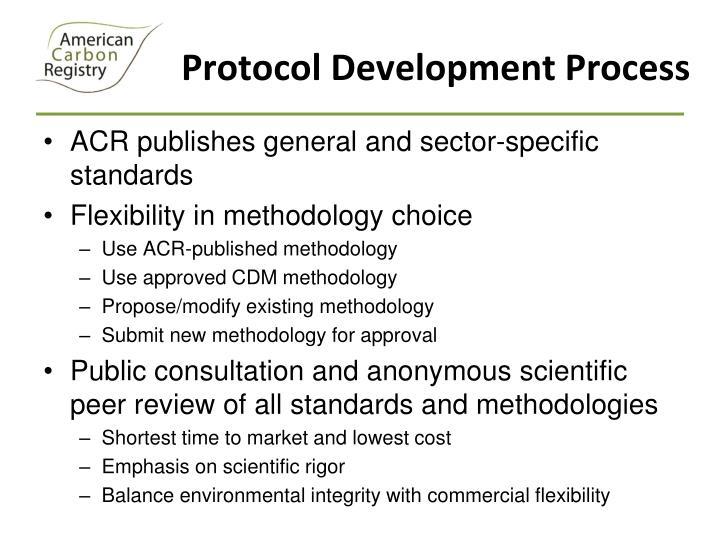 Protocol Development Process