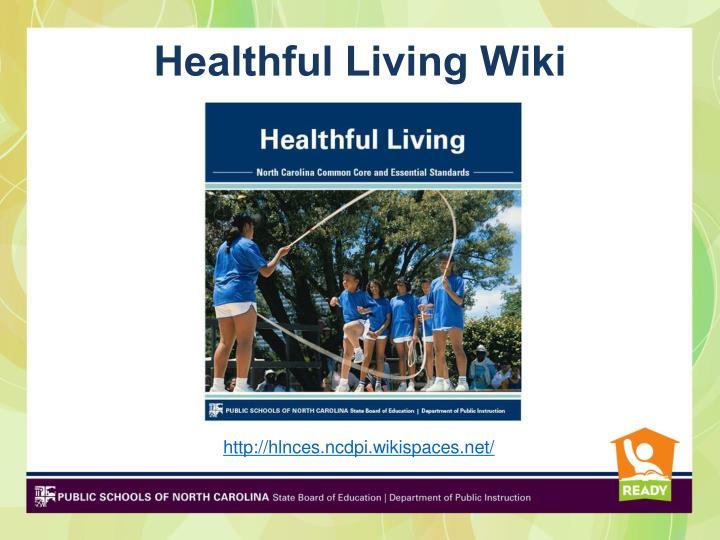 Healthful Living Wiki