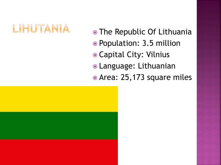 Lihutania