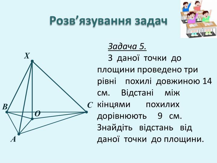 Розв'язування задач