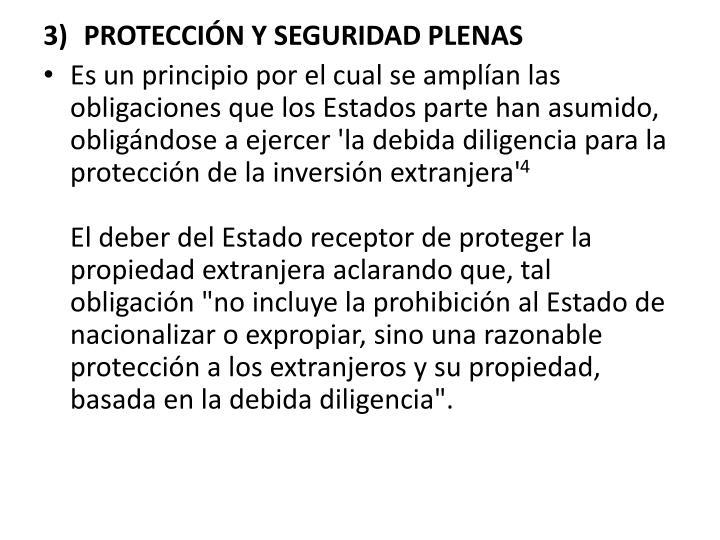 PROTECCIÓN Y SEGURIDAD PLENAS