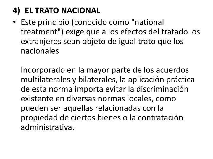EL TRATO NACIONAL