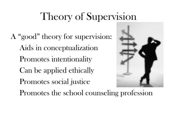 Theory of Supervision