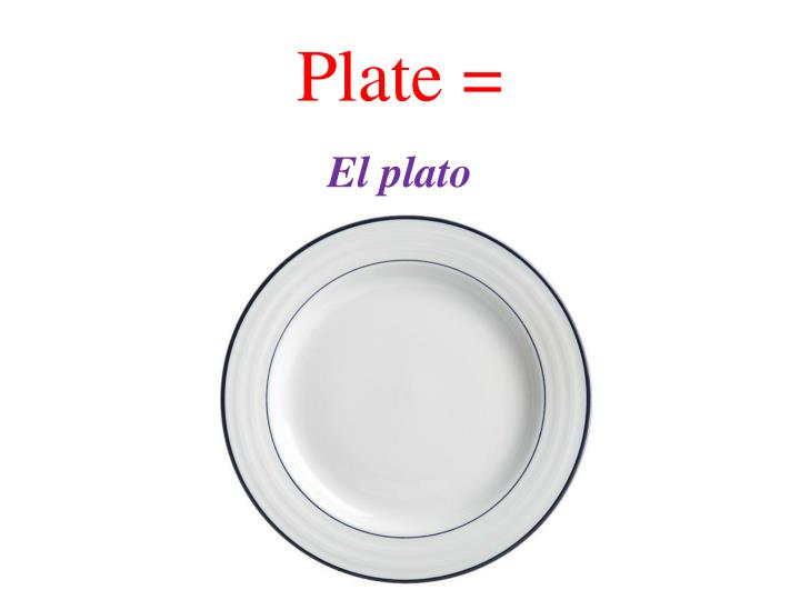 Plate =