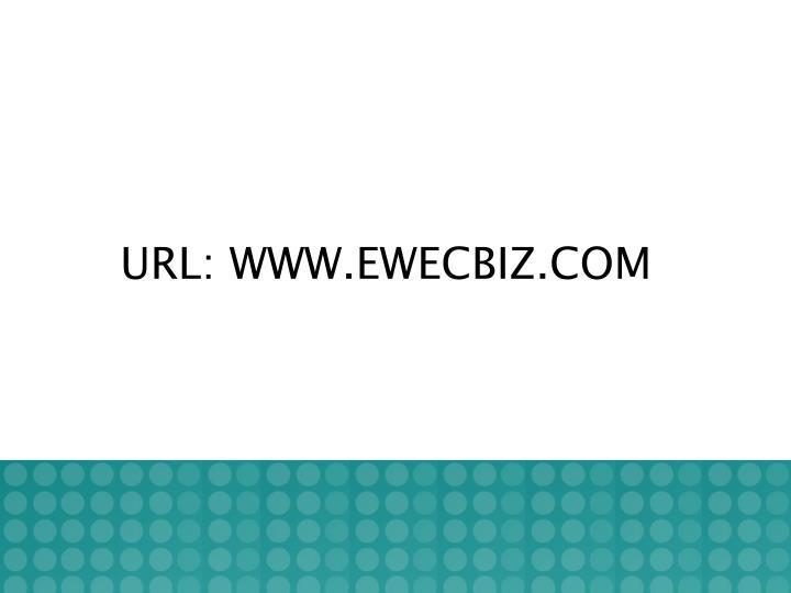 URL: WWW.EWECBIZ.COM
