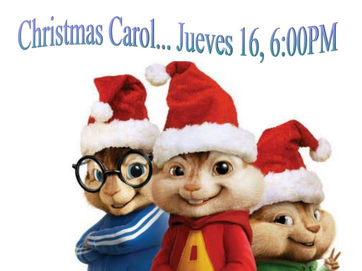 Christmas Carol...
