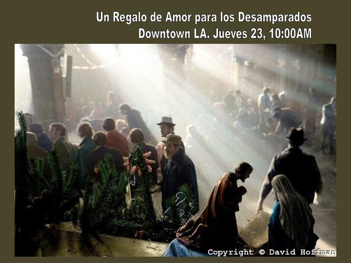 Un Regalo de Amor para los Desamparados