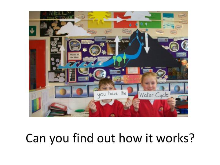 Can you find out how it works?