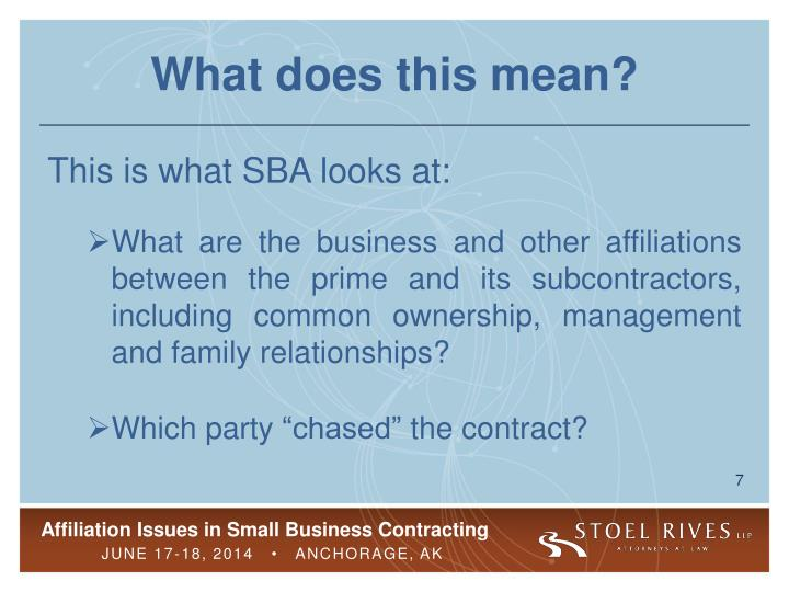 prime contractor and subcontractor relationship