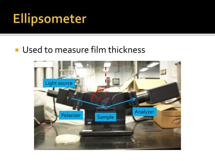 Ellipsometer
