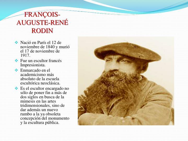 FRANÇOIS-AUGUSTE-RENÉ RODIN