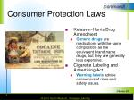 consumer protection laws1