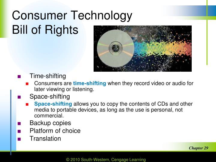 Consumer Technology