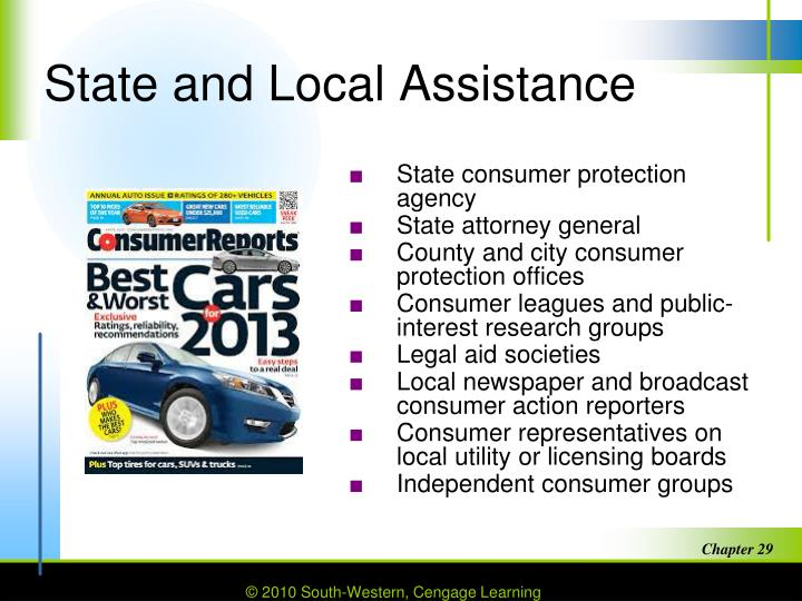 State and Local Assistance