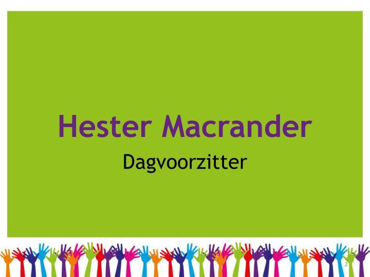 Hester Macrander