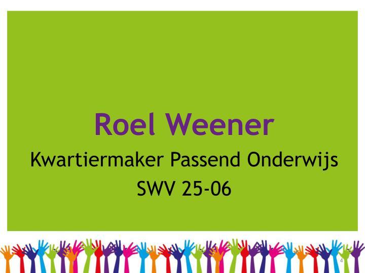 Roel Weener