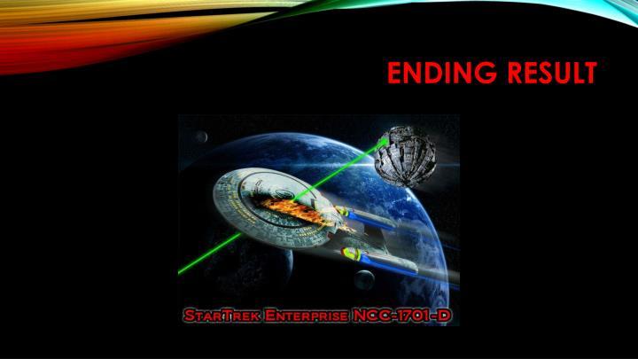 Ending Result