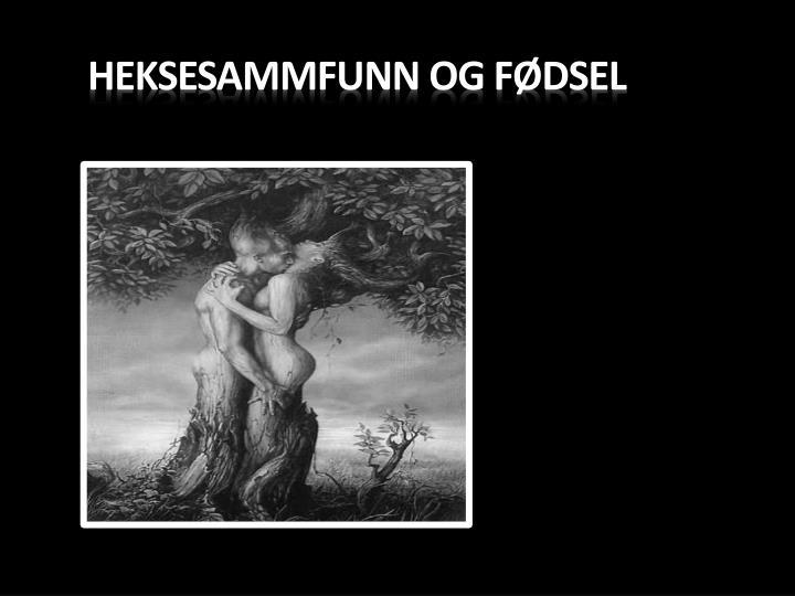 HEKSESAMMFUNN OG FØDSEL