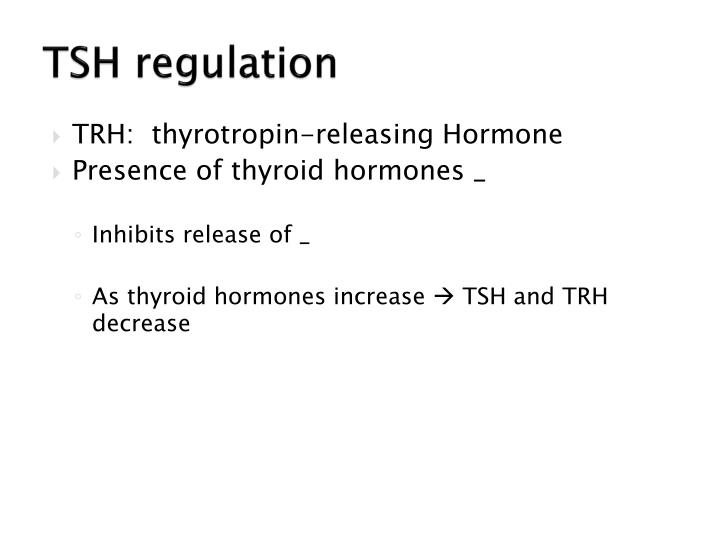 TSH regulation