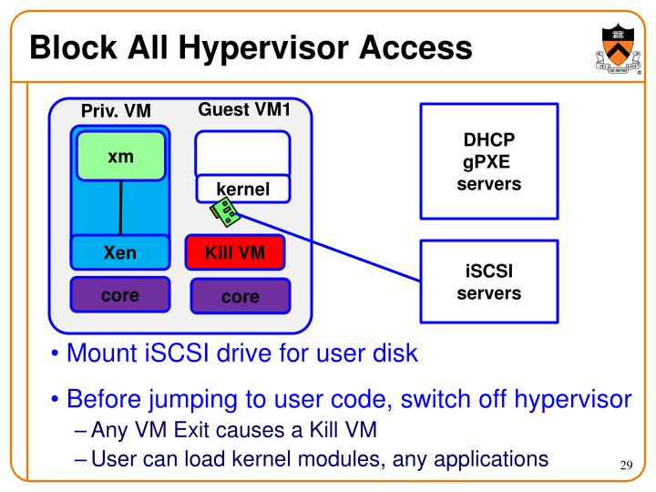 Block All Hypervisor Access