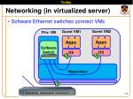 networking in virtualized server2