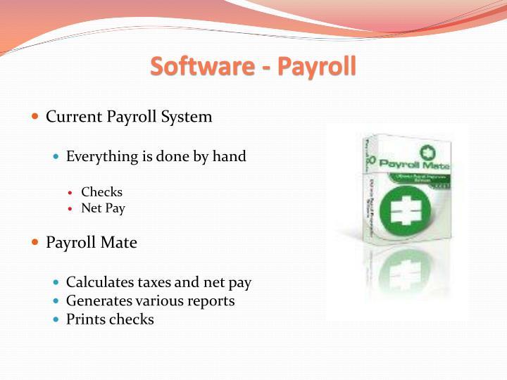Software - Payroll