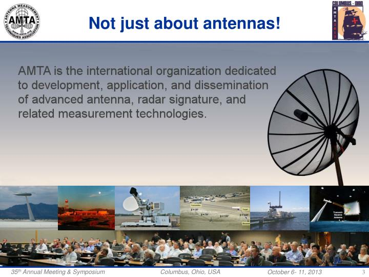 Not just about antennas