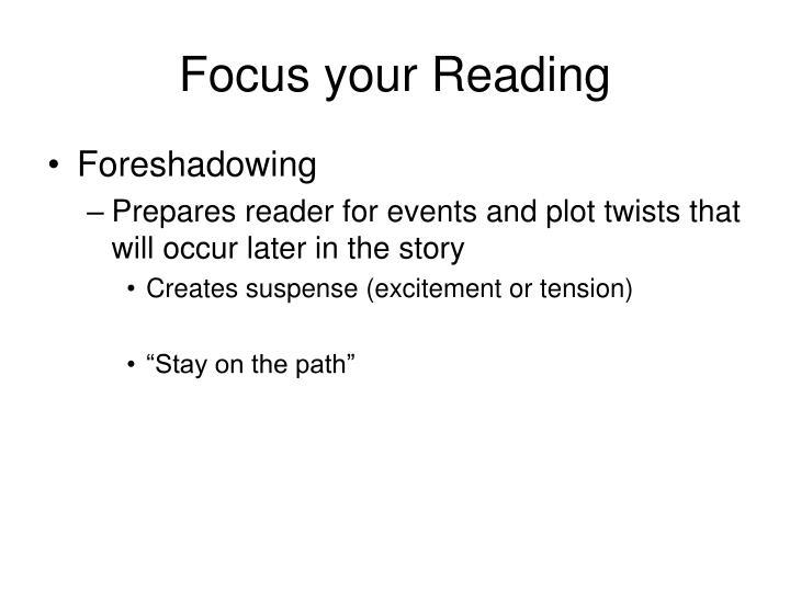 Focus your Reading