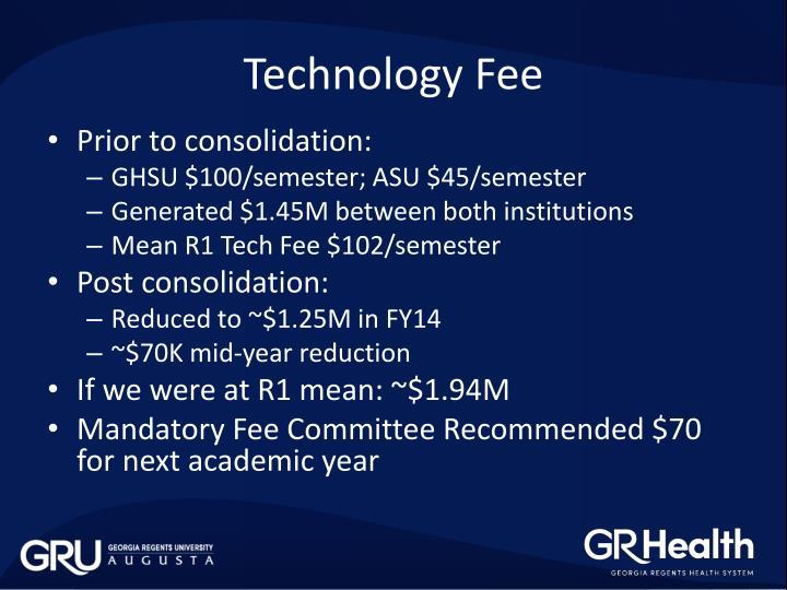Technology Fee