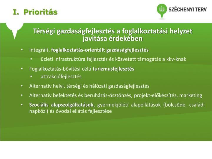 I.Prioritás